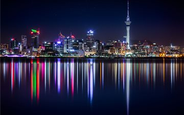 Auckland, New Zealand Mac wallpaper