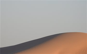 Sand Dune and Sky in the ... iMac wallpaper