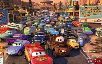 Cars Movie Review Mac wallpaper