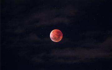 Total lunar Eclipse, Stoc... Mac wallpaper