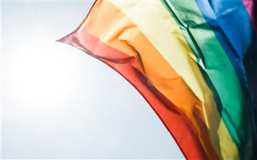 Proud rainbow flag All Mac wallpaper