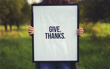 Signs of Gratitude Mac wallpaper