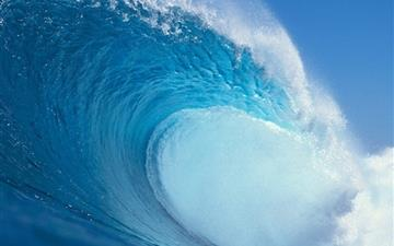 Waves Ocean Mac wallpaper