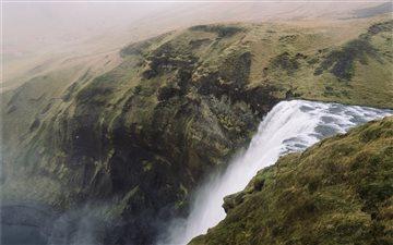 Skogafoss, Iceland Mac wallpaper
