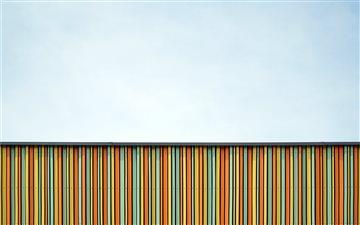 Colorful facade in German... Mac wallpaper
