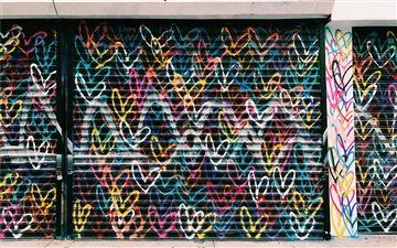 The love wall Mac wallpaper