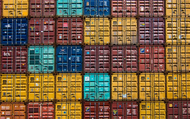 Shipping container patter... Mac Wallpaper