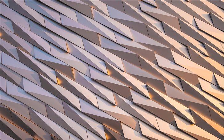 Shapes around Titanic Bel... Mac Wallpaper