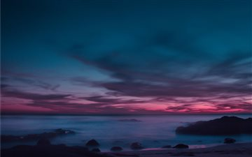 Sunsets on the West Coast Mac wallpaper