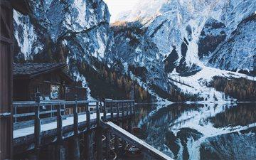 Dreamy morning at Lake of... Mac wallpaper