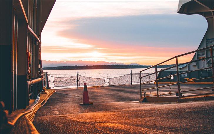 Seattle Ferry Terminal, S... Mac Wallpaper