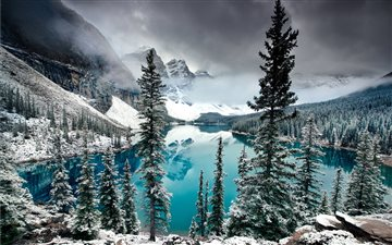 Moraine lake Mac wallpaper