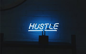 Hustle Mac wallpaper