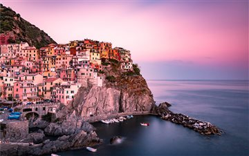 Manarola, Italy Mac wallpaper