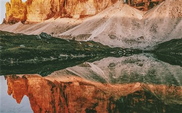 Three peaks Lavaredo Mac wallpaper
