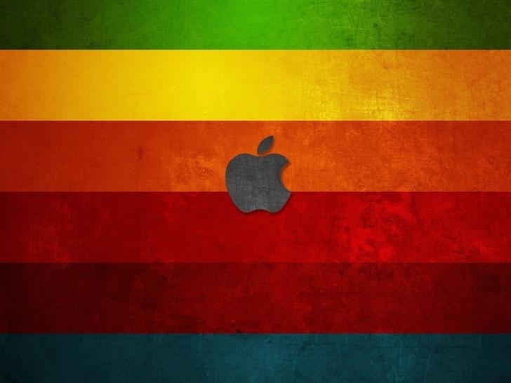 Color Bar Background Apple Mac Wallpaper