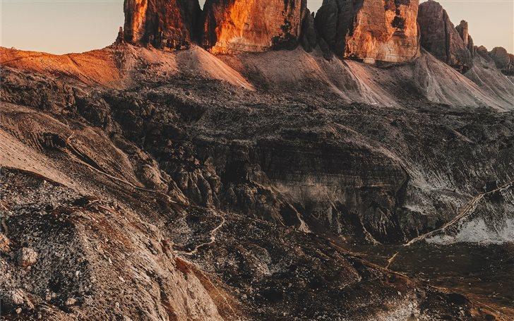 Three Peaks of Lavaredo Mac Wallpaper