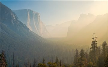 Tunnel View, United State... Mac wallpaper