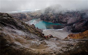Goreliy Volcano Mac wallpaper