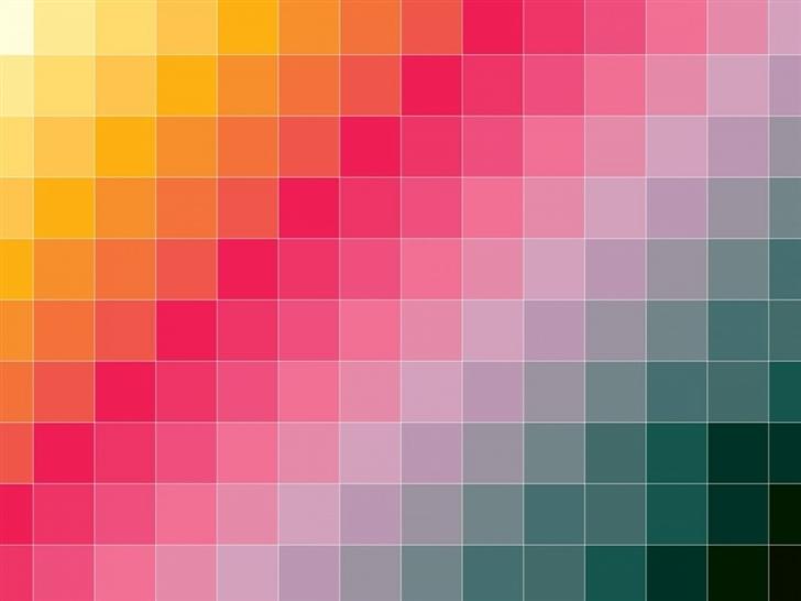 Flip Color Grid Mac Wallpaper