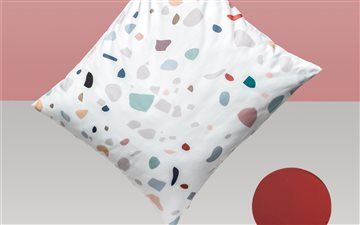 Terrazzo Pillow Mac wallpaper