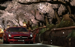 Mercedes Benz Sls Amg Red Night