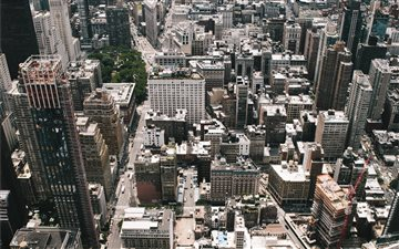 New York from the top of ... Mac wallpaper