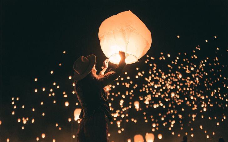 Lanterns Mac Wallpaper
