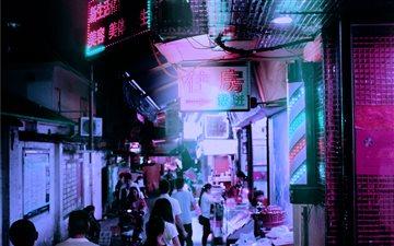 Shipai, Guangzhou, China Mac wallpaper