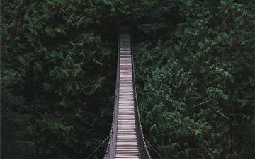 Beautiful Bridge in North... Mac wallpaper