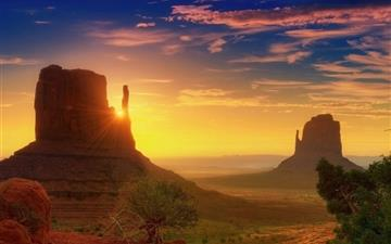 Canyon Sunrise Mac wallpaper