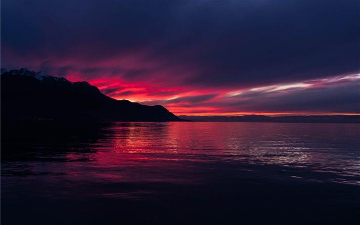 Colorful sunset 💜 Mac Wallpaper