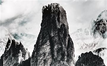 Dolomites, Toblach, Italy Mac wallpaper