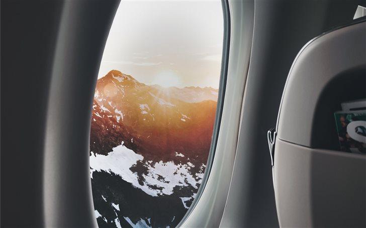 the beauty of flying Mac Wallpaper