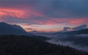 Sunset twilight Mac wallpaper