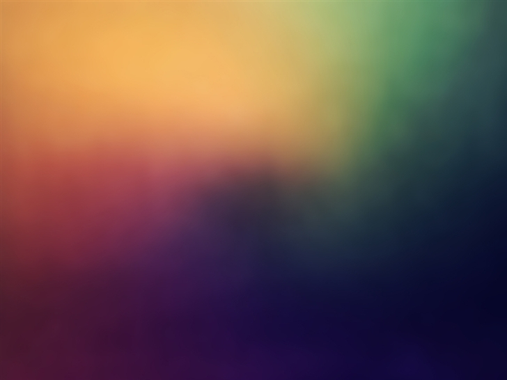 Colored  Fog Mac Wallpaper