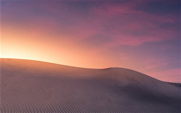 Desert Landscape - Sunset... Mac wallpaper