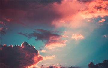 My favourite cloudscape o... Mac wallpaper