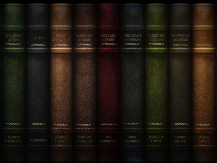 Books Mac Wallpaper