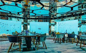 Underwater Restaurant at ... Mac wallpaper