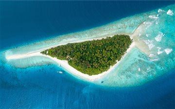 Paradise Maldives Mac wallpaper