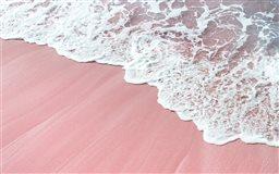 pink wawes