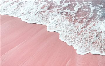 pink wawes All Mac wallpaper