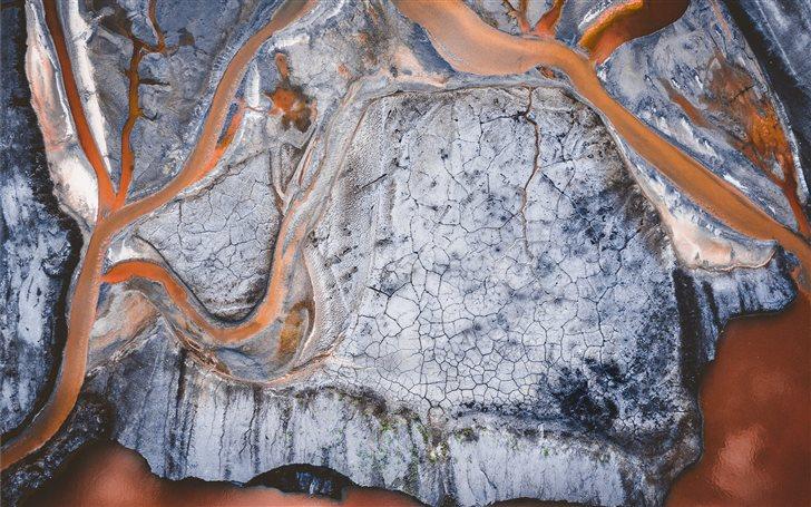 Ash pond Mac Wallpaper