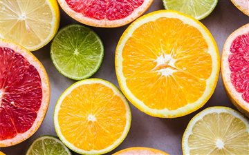 Oranges Mac wallpaper