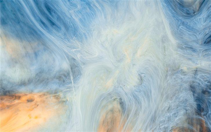 Acrylic paint abstract ph... Mac Wallpaper