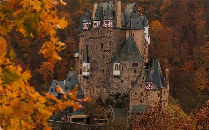 Burg Eltz Mac Wallpaper