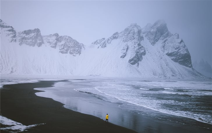 Winter in Iceland Mac Wallpaper