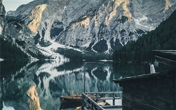 St.Veit, Braies, Italy Mac wallpaper
