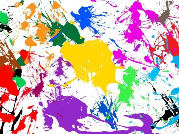 paint splatter colorful mac wallpaper download free mac